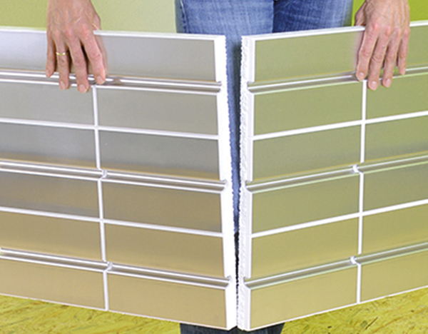 10 qm quicktherm wandheizung va 166 mm fu bodenheizung und wandheizung f r trockenbau. Black Bedroom Furniture Sets. Home Design Ideas