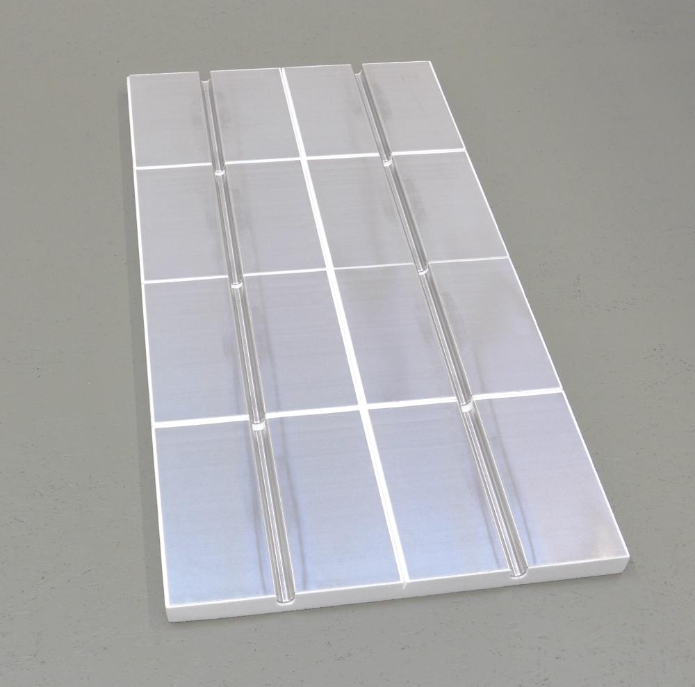 48 qm komplett set f r fliesen mit verteiler und regelung. Black Bedroom Furniture Sets. Home Design Ideas