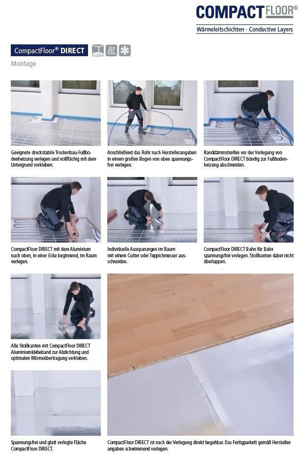 compactfloor direct fu bodenheizung und wandheizung f r. Black Bedroom Furniture Sets. Home Design Ideas